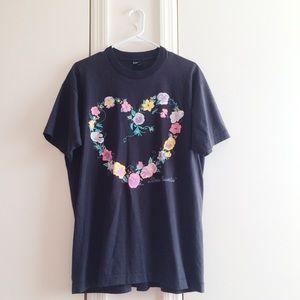 '92 Stone Mountain Heart Floral Tee